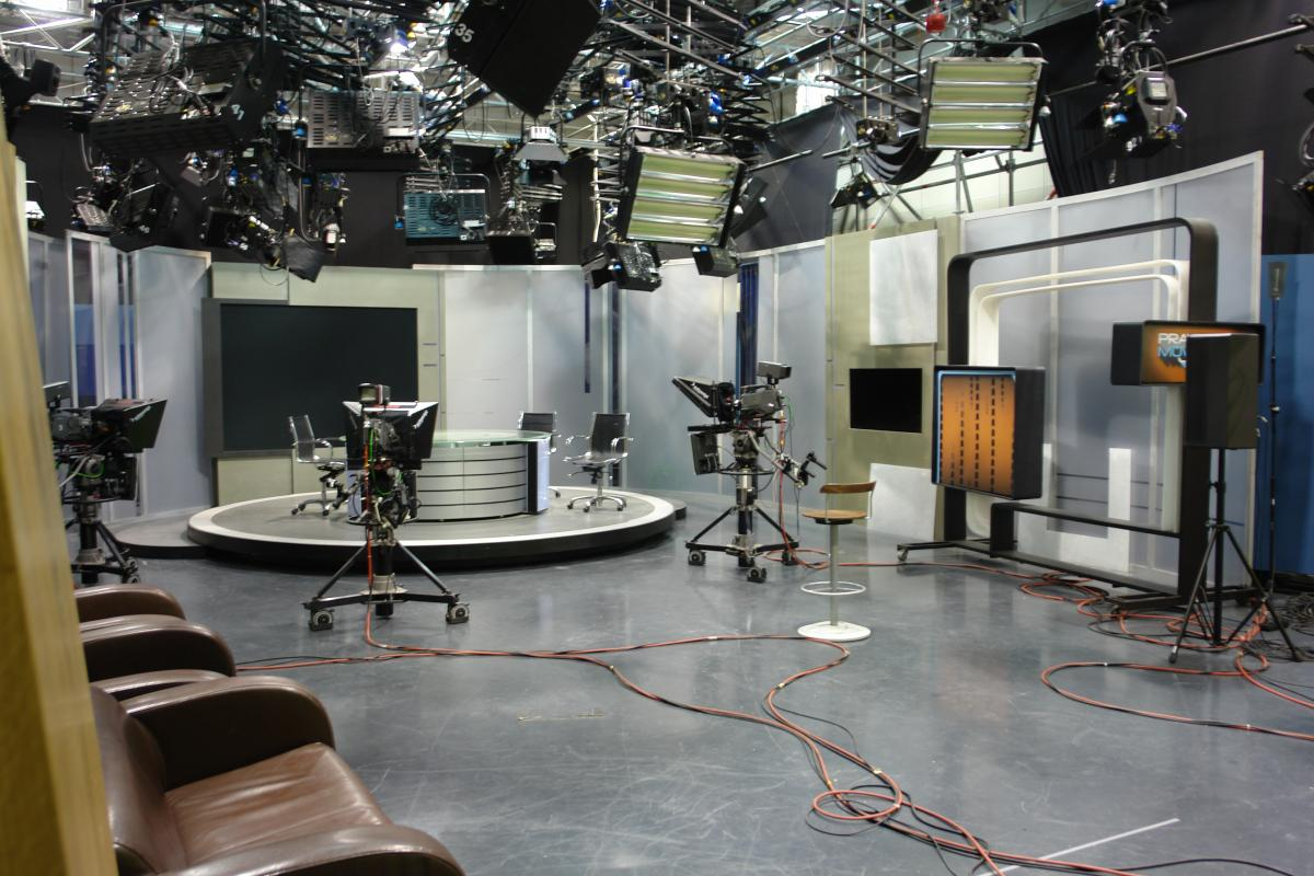 Hala zdjęciowa TV Puls